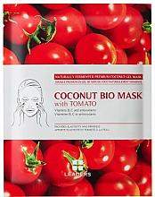 Parfums et Produits cosmétiques Masque gel à la noix de coco et extrait de tomate pour visage - Leaders Coconut Bio Tomato Mask