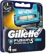Parfums et Produits cosmétiques Lames de rechange pour rasoir - Gillette Fusion Proshield Chill