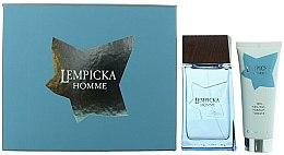 Parfums et Produits cosmétiques Lolita Lempicka Homme - Coffret parfum (eau de toilette 100ml + gel après-rasage 5ml)