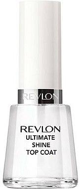 Top coat brillant effet gel - Revlon Ultimate Shine Top Coat — Photo N2