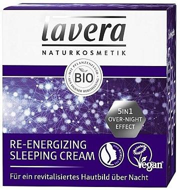 Crème de nuit aux huiles d'olive et amande douce - Lavera Re-Energizing Sleeping Cream — Photo N2