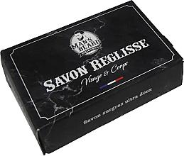 Parfums et Produits cosmétiques Savon à la réglisse pour visage et corps - Man's Beard Savon Surgras Réglisse
