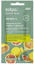 Parfums et Produits cosmétiques Masque enzymatique à l'argile pour visage - Tolpa Dermo Face Strefa T Face Mask (mini)