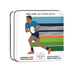 Parfums et Produits cosmétiques Savon de luxe en boîte métallique Rugby - Scottish Fine Soaps Rugby Sports Soap In A Tin