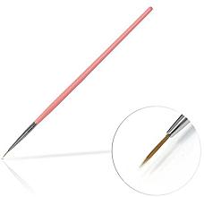 Parfums et Produits cosmétiques Pinceau nail art, 6mm, rose - Silcare Brush 0