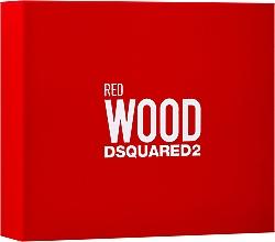 Parfums et Produits cosmétiques Dsquared2 Red Wood - Coffret (eau de toilette/50ml + gel bain et douche/50ml + lotion corporelle/50ml)