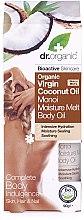 Parfums et Produits cosmétiques Huile de coco et monoï pour cheveux, peau et ongles - Dr.Organic Virgin Coconut Oil Moisture Melt Body Oil