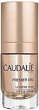 Parfums et Produits cosmétiques Crème à l'huile d'avocat et caféine pour contour des yeux - Caudalie Premier Cru Eye Cream