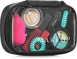 Parfums et Produits cosmétiques Trousse de toilette transparente Compact, (sans contenu) - MakeUp