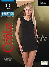 Parfums et Produits cosmétiques Collant pour femme, Prestige, 12 Den, nero - Conte