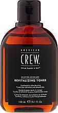 Parfums et Produits cosmétiques Lotion après-rasage - American Crew Revitalizing Toner