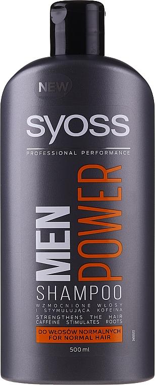 Shampooing fortifiant - Syoss Men Power  — Photo N1