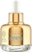 Parfums et Produits cosmétiques Sérum au caviar de Sibérie pour visage et cou - Natura Siberica Caviar Gold
