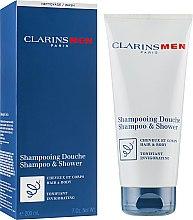Parfums et Produits cosmétiques Shampooing rafraîchissant pour corps et cheveux - Clarins Men Shampoo & Shower