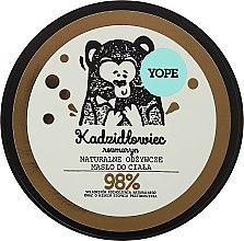 Parfums et Produits cosmétiques Beurre naturel nourrissant encens et romarin pour corps - Yope Olibanum & Rosemary Body Butter