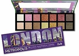 Parfums et Produits cosmétiques Palette de fards à paupières - Rude Metropolis Eyeshadow Palette