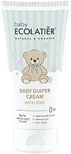 Parfums et Produits cosmétiques Crème de change au zinc - Ecolatier Baby Diaper Cream With Zinc