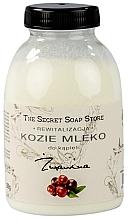 Parfums et Produits cosmétiques Lait de chèvre pour bain, Canneberge - The Secret Soap Store Cranberry Goat Milk