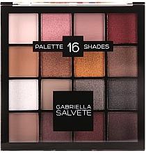 Parfums et Produits cosmétiques Palette fards à paupières, 16 nuances - Gabriella Salvete Palette 16 Shades II