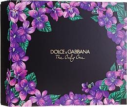 Parfums et Produits cosmétiques Dolce&Gabbana The Only One - Coffret (eau de parfum/50ml + eau de parfum/10ml)