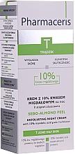Parfums et Produits cosmétiques Crème de nuit exfoliante à l'acide mandélique 10% - Pharmaceris T Sebo-Almond-Peel Exfoliting Night Cream