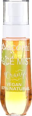 Brume visage naturelle à l'orange - Nacomi Face Mist Orange