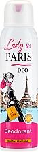 Parfums et Produits cosmétiques Déodorant spray parfumé - Lady In Paris Deodorant