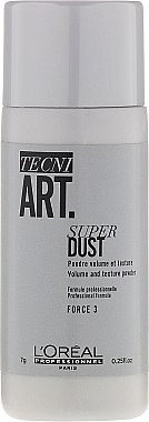 Poudre volumisante et texturisante pour les cheveux - L'Oreal Professionnel Tecni.Art Super Dust Force 3 — Photo N1