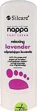 Parfums et Produits cosmétiques Crème pour les pieds Lavande relaxante - Silcare Nappa Foot Cream Relaxing Lavender