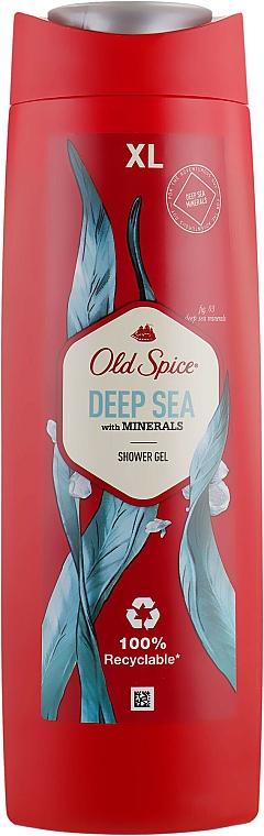 Gel douche aux minéraux - Old Spice Deep Sea With Minerals Shower Gel