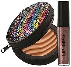 Parfums et Produits cosmétiques NoUBA Sunlike Natural Tan №2 - Kit de maquillage(poudre/15g + gloss/6ml)