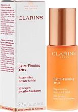 Parfums et Produits cosmétiques Sérum éclaircissant anti-rides pour le contour des yeux - Clarins Extra-Firming Yeux