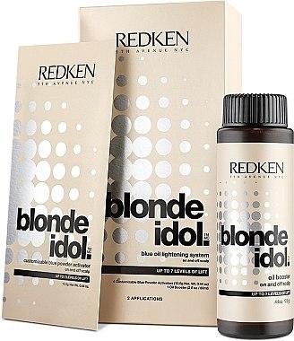 Kit d'éclaircissant jusqu'à 7 tonnes - Redken Blonde Idol Blue Oil Lightening Systems