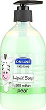 Parfums et Produits cosmétiques Savon liquide à la poire - On Line Kids Time Liquid Soap Pear