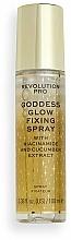 Parfums et Produits cosmétiques Spray fixateur de maquillage à l'extrait de concombre - Revolution Pro Goddess Glow Setting Spray