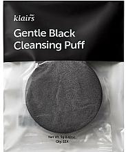 Parfums et Produits cosmétiques Éponge nettoyante - Klairs Gentle Black Cleansing Puff