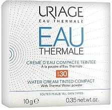 Parfums et Produits cosmétiques Crème d'eau compacte teintée à la poudre d'eau thermale pour visage - Uriage Eau Thermale Water Tinted Cream Compact SPF30