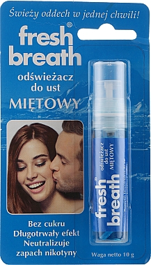 Spray d'haleine fraîche goût menthe - Fresh Breath