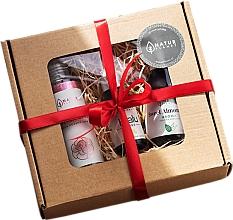 Parfums et Produits cosmétiques Natur Planet - Coffret cadeau (huile pour corps/100ml + eau de rose tonifiante/100ml + sérum/30ml)