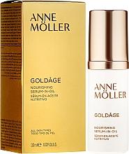 Parfums et Produits cosmétiques Sérum au beurre de karité pour visage - Anne Moller Goldage Nourishment Serum-in-Oil