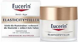 Parfums et Produits cosmétiques Crème de jour à l'acide hyaluronique - Eucerin Hyaluron-Filler + Elasticity Day SPF15 Cream