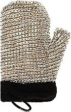 Parfums et Produits cosmétiques Gant de massage pour homme - Suavipiel Black Men Sisal Glove