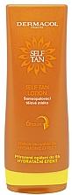 Parfums et Produits cosmétiques Lait autobronzant et hydratant pour corps - Dermacol Sun Self Tan Lotion