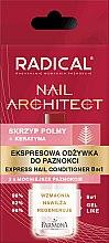 Parfums et Produits cosmétiques Conditionneur pour ongles 8 en 1 - Farmona Radical Nail Architect Express 8in1