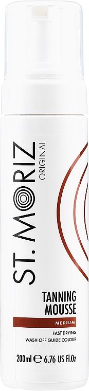 Mousse autobronzante instantanée, teinte moyenne - St.Moriz Instant Self Tanning Mousse Medium