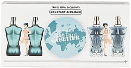Parfums et Produits cosmétiques Jean Paul Gaultier Mini Set - Coffret (eau de toilette/2x7ml + eau de parfum/2x7ml)