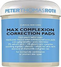 Parfums et Produits cosmétiques Disques double face aux acides pour visage - Peter Thomas Roth Max Complexion Correction Pads