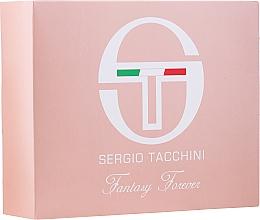 Parfums et Produits cosmétiques Sergio Tacchini Fantasy Forever - Set (eau de toilette/50ml + trousse de toilette/1pc)