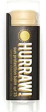 Parfums et Produits cosmétiques Baume à lèvres solaire à l'huile de camomille romaine - Hurraw! Sun Protection Lip Balm SPF15 Limited Edition