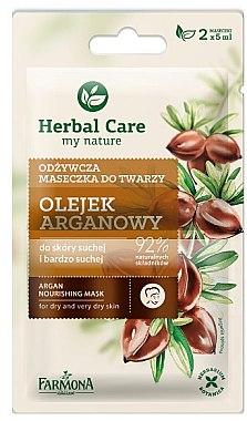 Masque à l'huile d'argan pour visage - Farmona Herbal Care